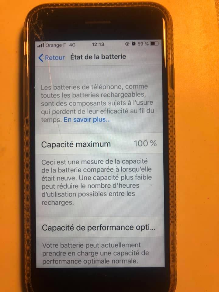 Barrekinfoservice Remplacement batterie iPhone 7